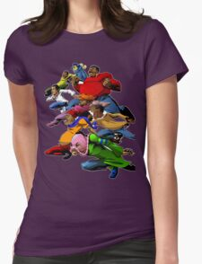 Fat Albert and the Gang Ready for battle Womens Fitted T-Shirt