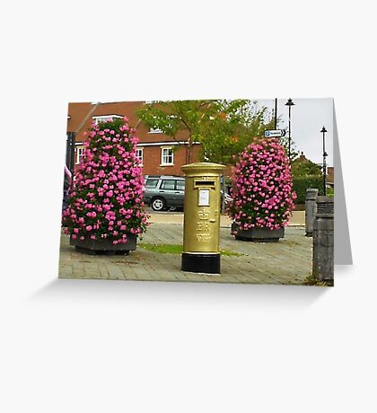 Gold In Hamble-Le-Rice Greeting Card