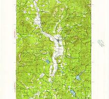 USGS Topo Map Washington State WA Chewelah 240464 1927 125000 by wetdryvac