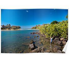 Kelly Beach - Bargara - Australia Poster