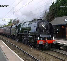 LMS 46233 'Duchess of Sutherland' at Aston by Rorymacve