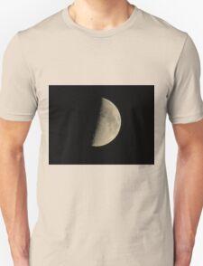 Half-moon In The Night Sky Unisex T-Shirt