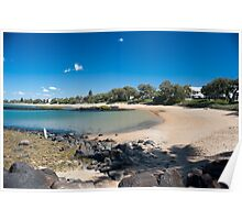 Kelly Beach Scene - Bargara - Queensland - Australia Poster