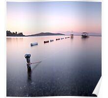 Boat in Silence Poster