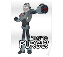 Rick and Morty – Time to Purge! Poster