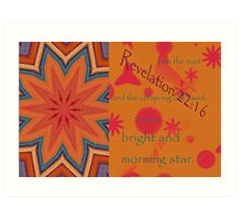 The Bright and Morning Star Art Print