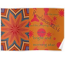 The Bright and Morning Star Poster