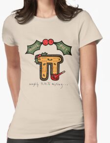 Christmas Mince ᴨ Womens Fitted T-Shirt