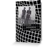 Dan Howell/danisnotonfire & Phil Lester/AmazingPhil Greeting Card