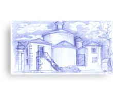 Ermida de Sto. Amaro sketch Canvas Print
