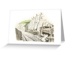 Mineral Railway, Dover Greeting Card