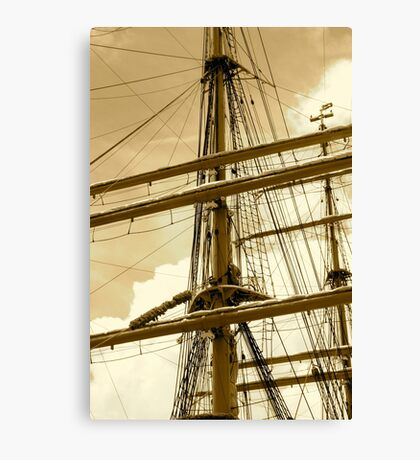 Barque Eagle Mast Canvas Print