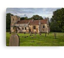 The Church of St. Michael and All Angels, Brodsworth, South Yorkshire, England Canvas Print