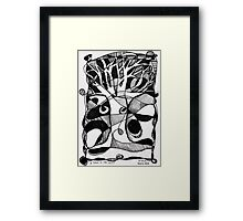 'A Tree in the Mist' Framed Print