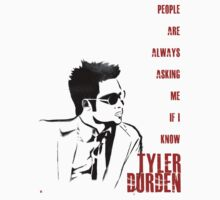 Tyler Durden Text by MrHSingh