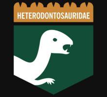 Dinosaur Family Crest: Heterodontosauridae Kids Clothes