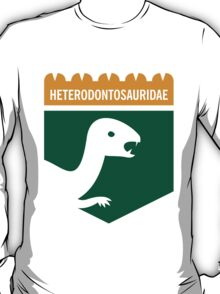 Dinosaur Family Crest: Heterodontosauridae T-Shirt