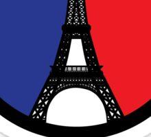 Peace. Love. Paris Strong Sticker