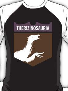 Dinosaur Family Crest: Therizinosauria T-Shirt