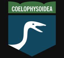 Dinosaur Family Crest: Coelophysoidea Kids Clothes