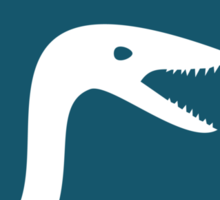 Dinosaur Family Crest: Coelophysoidea Sticker