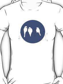 Bob Marley's Songs in Simple Art - Three Little Bird T-Shirt