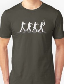Zombies on Abbey Road (Version 03) Unisex T-Shirt