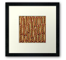hotdog repeater Framed Print