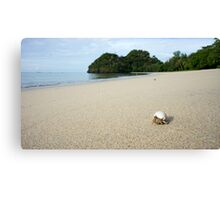 Backpacking... Canvas Print