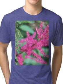 Pink Meadow Sweet Close Up Tri-blend T-Shirt