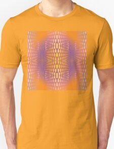 trippy psychedelic grate Unisex T-Shirt