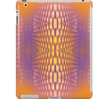 trippy psychedelic grate iPad Case/Skin