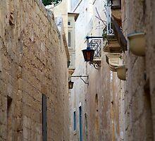 Mdina Passage by Sean Foreman