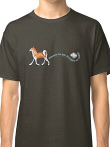 Akita :: Places to Go People to Sniff Classic T-Shirt