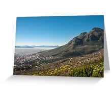 The Mother City Greeting Card