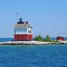 Round Island Lighthouse by Jack Ryan
