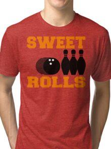 Funny Bowling T-Shirt Tri-blend T-Shirt