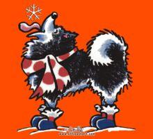 Alaskan Malamute Catch a Snowflake {Kids} Kids Tee