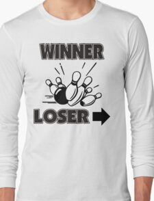 Funny Winner Bowling T-Shirt Long Sleeve T-Shirt
