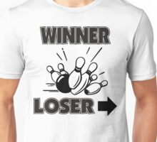 Funny Winner Bowling T-Shirt Unisex T-Shirt
