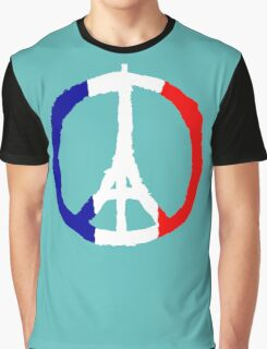 Peace For Paris Graphic T-Shirt