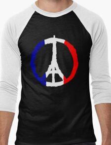 Peace For Paris Men's Baseball ¾ T-Shirt