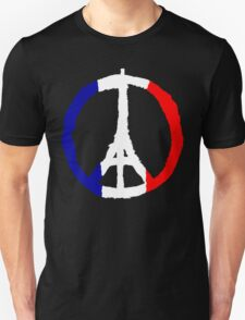 Peace For Paris Unisex T-Shirt