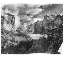 Clearing Spring Storm, Yosemite Valley, Yosemite National Park, California Poster