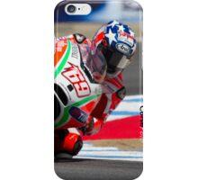 Nicky Hayden at laguna seca 2012 iPhone Case/Skin