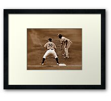 An Evening At The Game ~ Part Five Framed Print