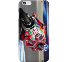 Nicky Hayden at laguna seca 2012 iPhone Case/Skin