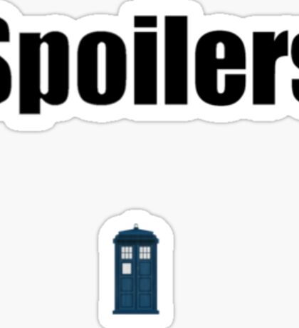 Doctor Who Quotes Sticker