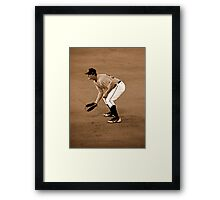 An Evening At The Game ~ Part Six Framed Print
