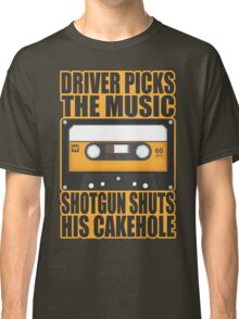 SUPERNATURAL - Driver Picks the Music.. Classic T-Shirt